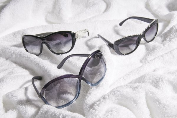 Sunglasses (Chanel, Tom Ford)